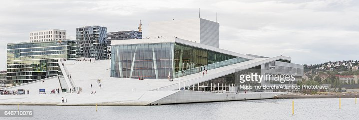 The Oslo Opera House (Operahuset), Snøhetta architects : Stock Photo