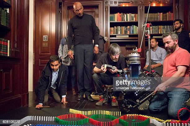 NONE 'The Other Man' Episode 105 Pictured Aziz Ansari Colin Salmon
