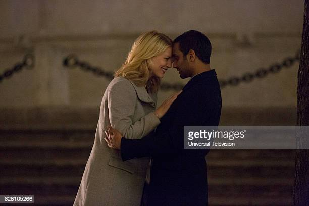 NONE 'The Other Man' Episode 105 Pictured Claire Danes as Nina Aziz Ansari as Dev