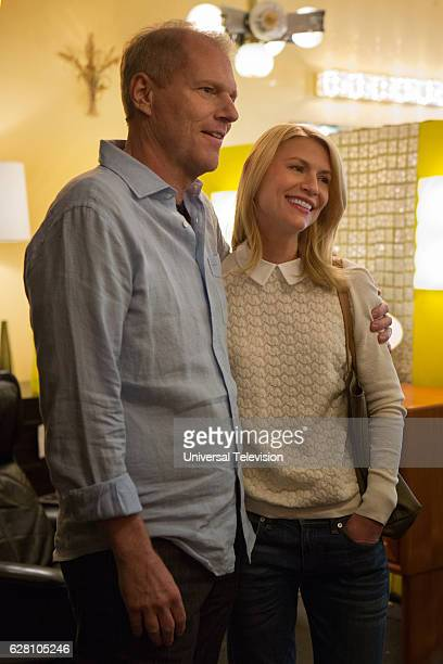 NONE 'The Other Man' Episode 105 Pictured Noah Emmerich as Mark Claire Danes as Nina