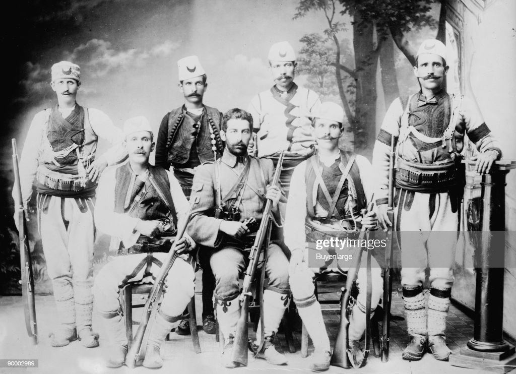 The Ottoman Empire aroused the Ire of the Balkan League Bulgaria Montenegro Greece Serbia and came under attack making the 'Sick Man of Europe' even...