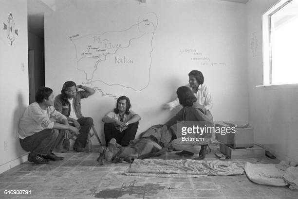The ousted Indians of Alcatraz busily settled into their new 'home' on an abandoned missile base 6/15 and their spokesman said the party of 50...