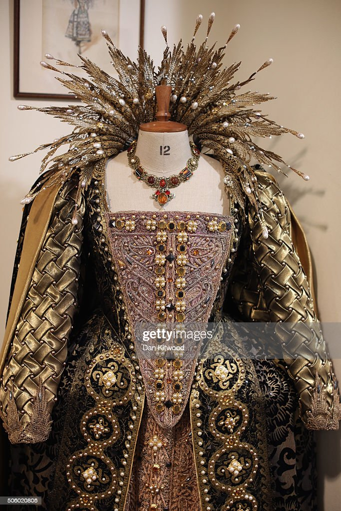 The outfit worn by Judi Dench in the film Shakespeare in Love is displayed at Angels Costume House on January 20, 2016 in London, England. Angels Costumes established in 1840 is in its 175th year, and is the longest-established and largest professional costume house in the world. The costumier is to receive the 'Outstanding British Contribution to Cinema Award' at the EE British Academy Film Awards ceremony at Londons Royal Opera House on Feb 14, 2016.