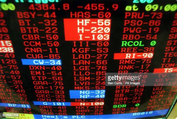 The outlook for city dealers' looks bleak this morning with the majority of this screen covered in a vivid red after shares crashed in the biggest...