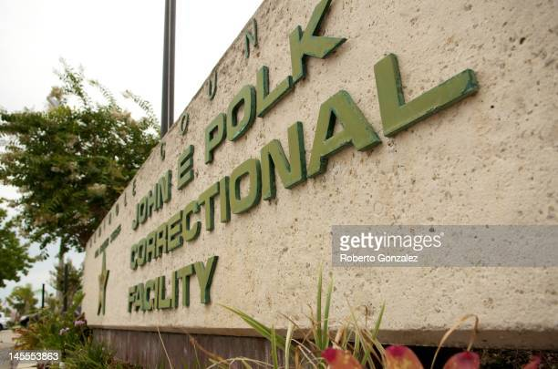 The outside of Seminole County Jail the John E Polk Correctional Facility prior to the return of George Zimmerman after having his bond revoked June...