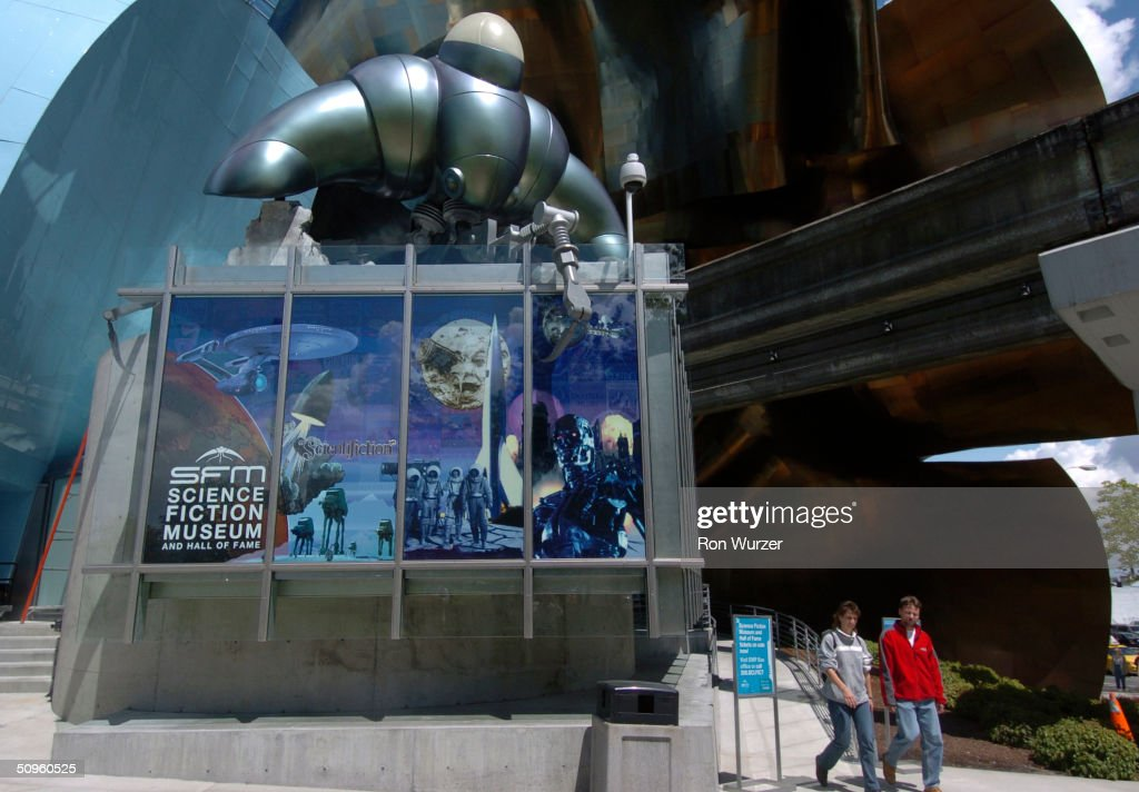 The Outside Of The Science Fiction Museum Is Seen June 14, 2004 In Seattle,