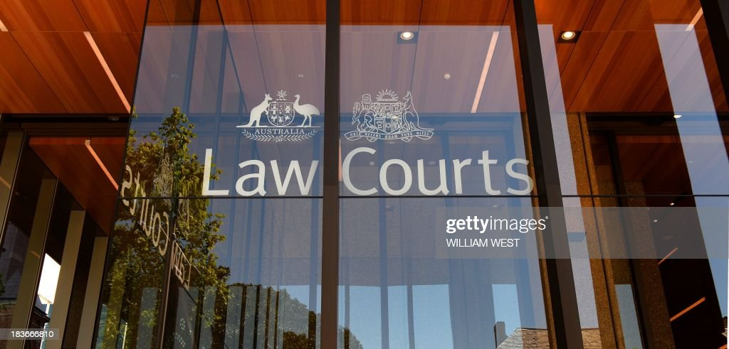 The outside of the Supreme Court of New South Wales building is seen in Sydney on October 9, 2013, as the court case continues with Australian billionaire Gina Rinehart's children taking their mining mogul mother to court over the multi-billion dollar family trust in a long-running and bitter feud in which she is accused of acting deceitfully. Rinehart's two eldest children, John Hancock and Bianca Rinehart are seeking her removal as head of the trust, set up by her late father Lang Hancock in 1988 and worth at least Aus$5 billion (US$4.7 billion). AFP PHOTO/William WEST