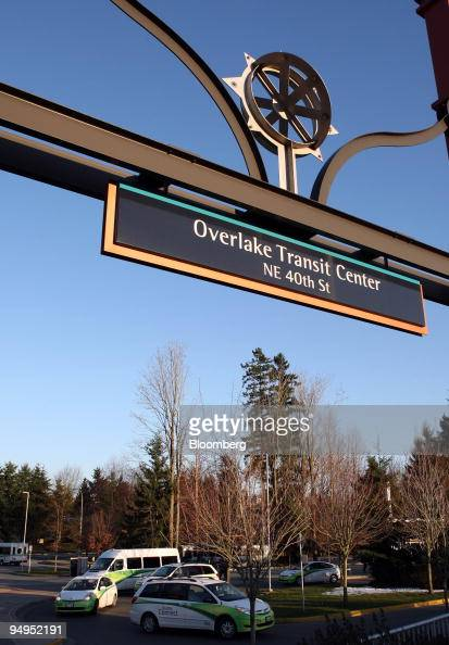 The Overlake Transit Center along SR 520 stands next to Microsoft Corp's Redmond Campus which will be connected to the new Microsoft West Campus by a...