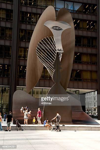 A escultura Pablo Picasso