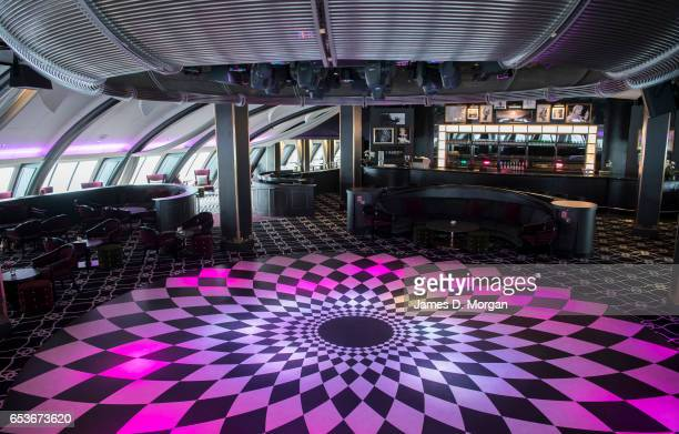 The Pacific Dawn cruise ship shows off her new interiors on March 16 2017 in Brisbane Australia The PO Cruises ship is returning to Australia after a...