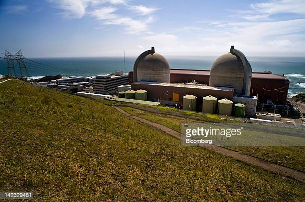 The Pacific Gas and Electric Co Diablo Canyon nuclear power plant stands in Avila Beach California US on Friday March 30 2012 US nuclearpower...