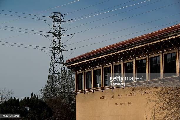 The Pacific Gas Electric Co Wise Powerhouse hydroelectric power plant stands in Auburn California US on Wednesday Feb 5 2014 The PGE facility is one...