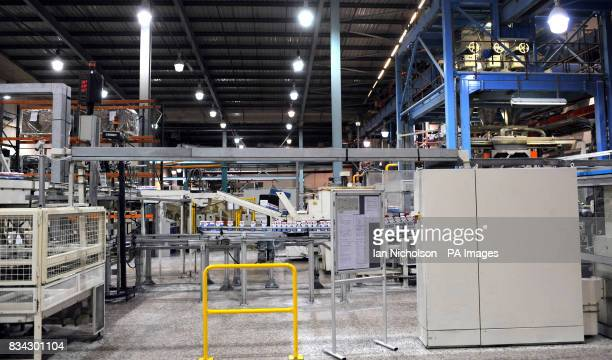 The packaging area at Tate Lyle sugar refinery in Silvertown East London which is celebrating 130 years of production