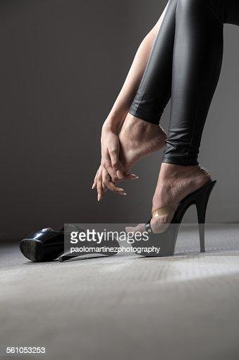 The pain of killer heels
