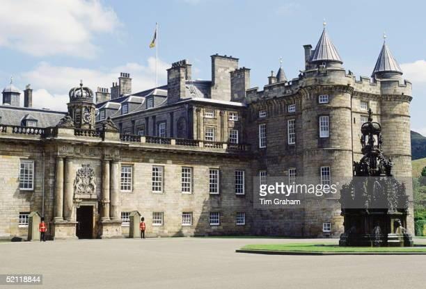 The Palace Of Holyrood House In Edinburgh Scotland