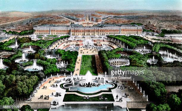 The Palace of Versailles Paris France early 20th century