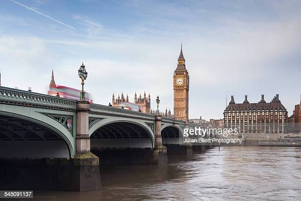 The Palace of Westminster and Westminster Bridge