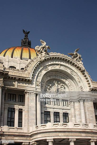 The Palacio de Bellas Artes on January 08 2009 in Mexico City Mexico With an estimated population of more that 22 million inhabitants Mexico City is...