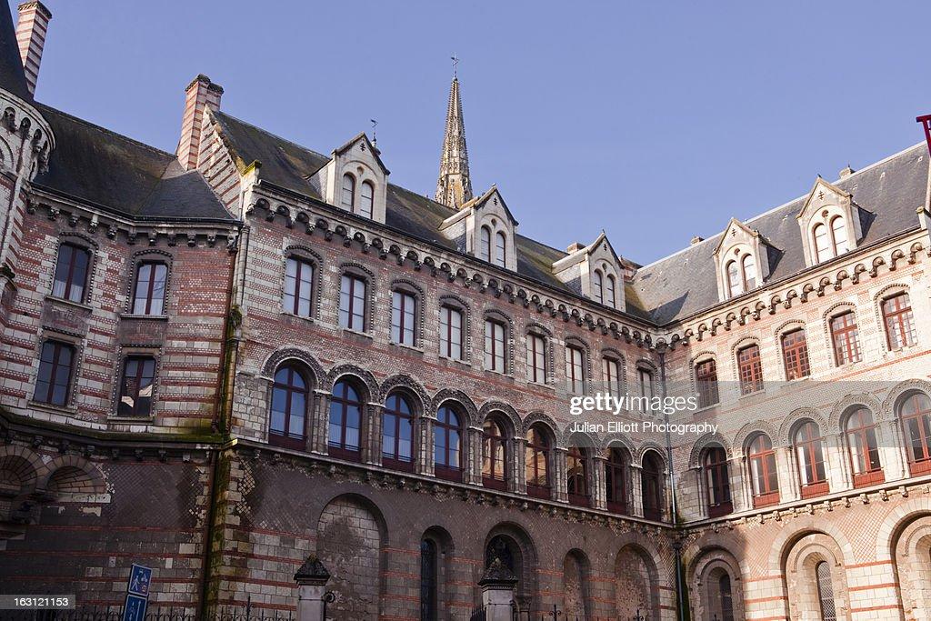 The Palais du Tau in Angers.