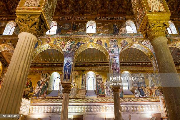 The Palatine Chapel in Palermo, Italy