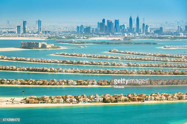The Palm Jumeirah, Dubai, VAE