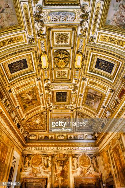 The 'Paolina Room' is seen at Castel Sant'Angelo on November 1 2017 in Rome Italy Rome is one of the most popular tourist destinations in the World