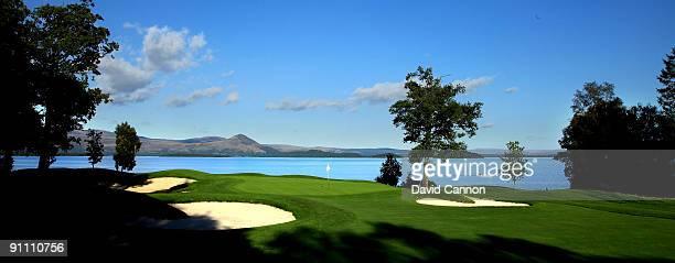 The par 3 5th hole on the Loch Lomond Golf Club on September 16 2009 Loch Lomond United Kingdom