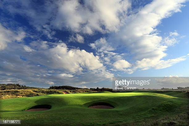 The par 4 16th hole at The Royal Birkdale Golf Club on August 23 in Southport Merseyside England