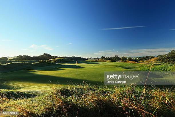 The par 4 1st hole at The Royal Birkdale Golf Club on September 22 in Southport Merseyside England