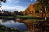 The par 4 6th hole at Valhalla Golf Club is previewed for the 2008 Ryder Cup at Valhalla Golf Club on October 22 2007 in LouisvilleKentucky