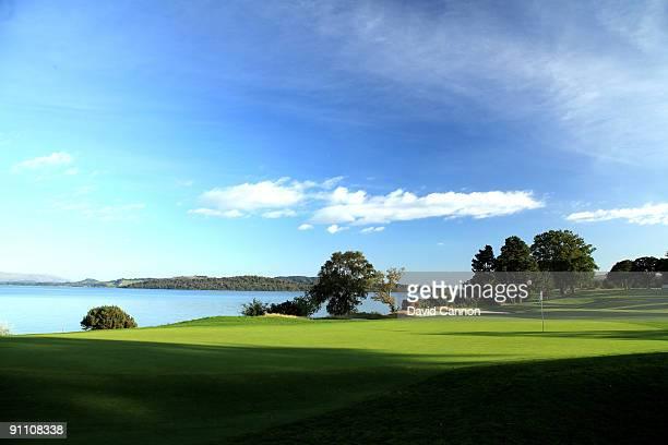 The par 4 7th hole on the Loch Lomond Golf Club on September 16 2009 Loch Lomond United Kingdom