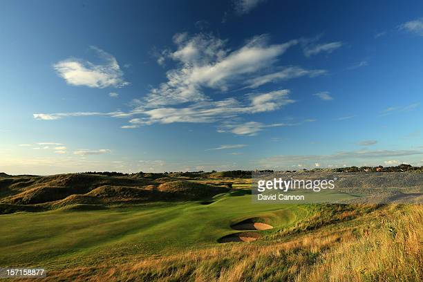 The par 4 8th hole at The Royal Birkdale Golf Club on August 23 in Southport Merseyside England