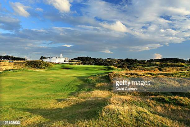 The par 4 9th hole at The Royal Birkdale Golf Club on August 23 in Southport Merseyside England