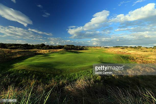 The par 5 15th hole at The Royal Birkdale Golf Club on August 23 in Southport Merseyside England