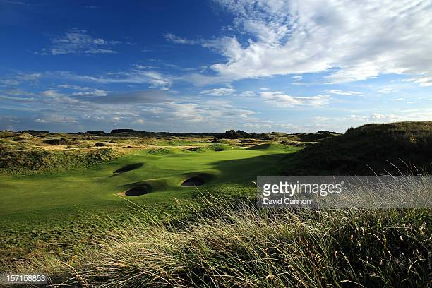 The par 5 6th hole at The Royal Birkdale Golf Club on August 23 in Southport Merseyside England