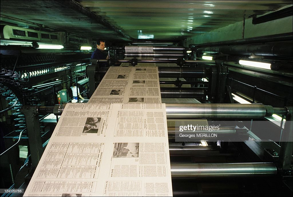 The Parisian newspapers In France In January 1988 Le monde