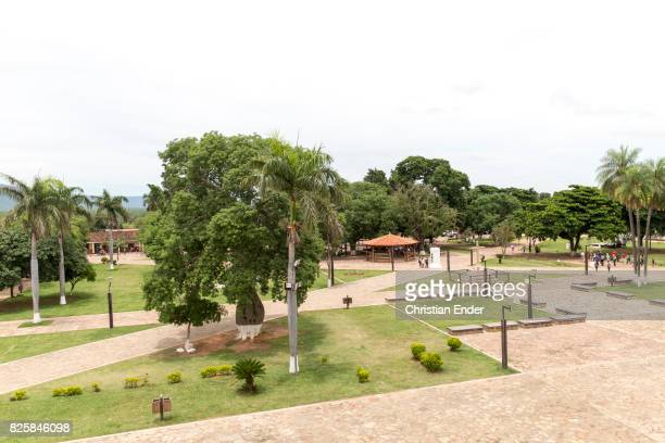 Bolivia San Jose de Chiquitos November 25 2016 The park next to the Jesuit reduction in San Jose