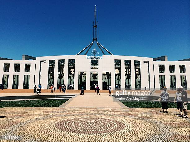The Parliament in Canberra Australia