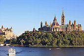 The Parliament of Canada and Ottawa River