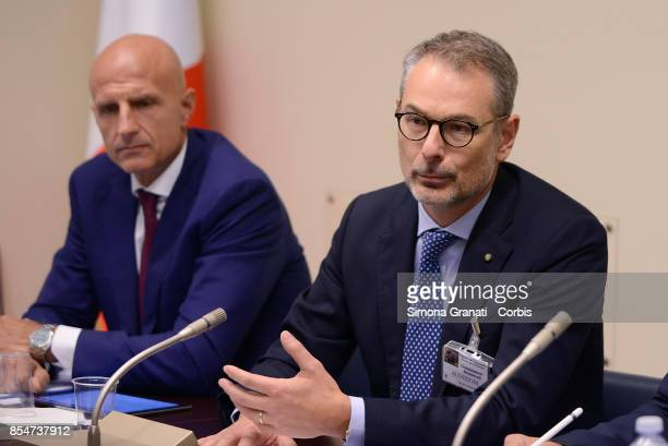 The Parliamentary Commission on the Digitization of Public Administrations meets the President and CEO of Consip Roberto Basso and Cristiano Cannarsa...