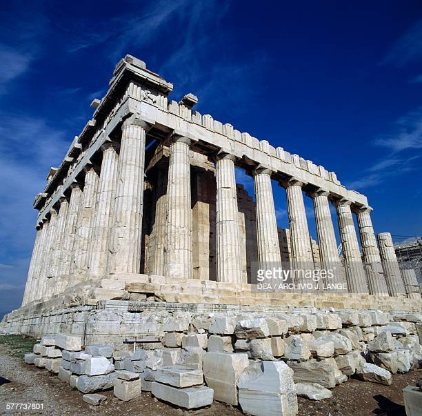 The Parthenon Acropolis of Athens Greece Greek civilisation 5th century BC