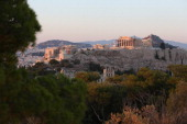 The Parthenon on the Acropolis at sunset on June 11 2012 in Athens Greece The Greek electorate is due to go to the polls in a rerun of the general...