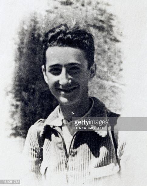 The partisan Franco Francon who was arrested by the fascists in 1944 and deported to Mauthausen together with his father Torquato World War II...