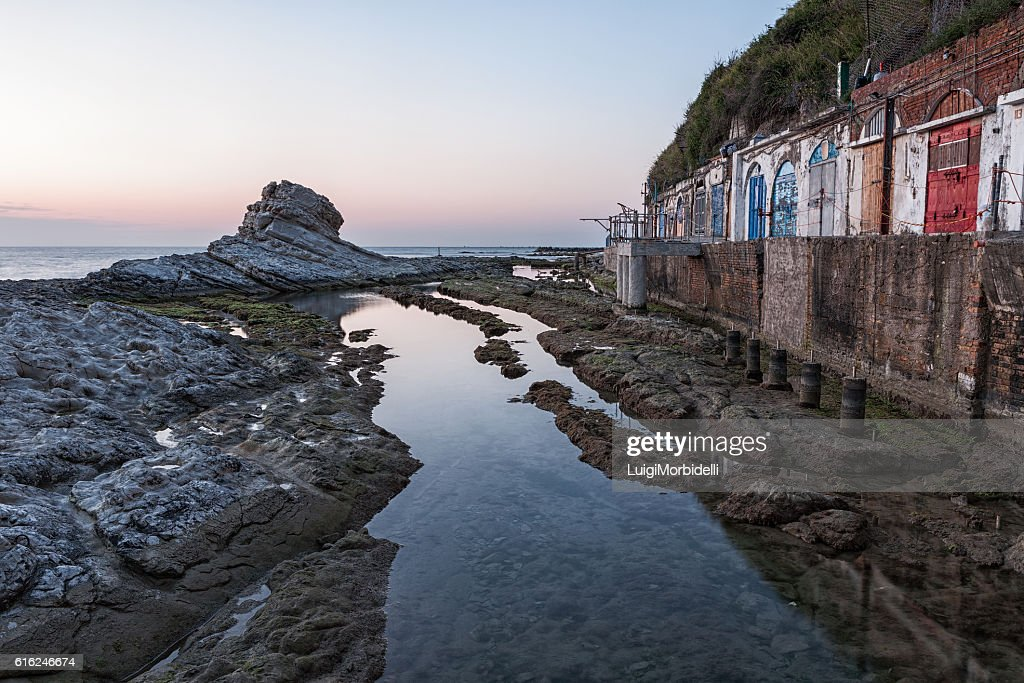 The passetto dock, Ancona, Italy : Foto de stock