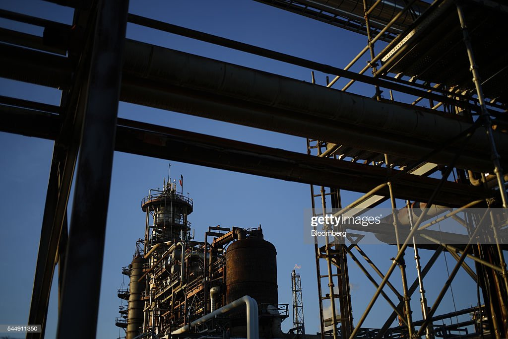 The PBF Energy Inc Toledo Refining Company facility stands in Oregon Ohio US on Thursday June 30 2016 PBF Energy an independent petroleum refiner and...