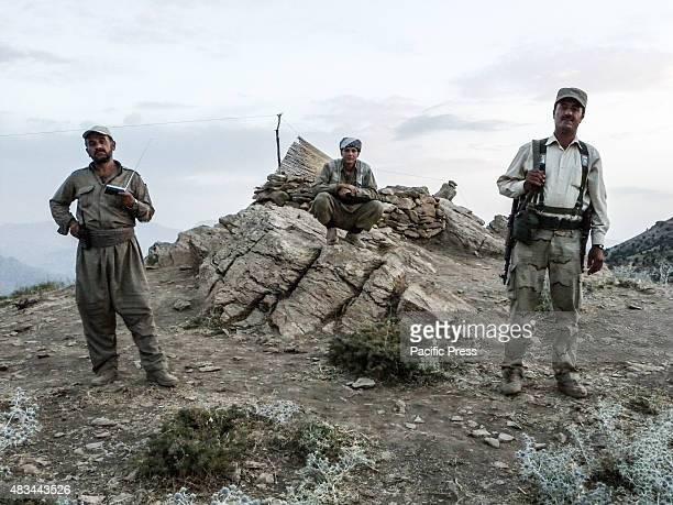 The PDKI movement is in Iranian borders one kilometer away from the Iranian troops and where the Peshmerga stays