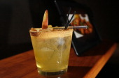 The Peacekeeper Margarita beverage at Showcase Superlux in Chestnut Hill Mass on November 21 2013