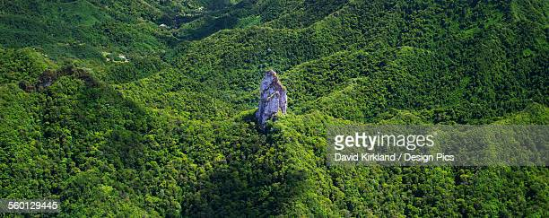 The peak at the centre of Raratonga