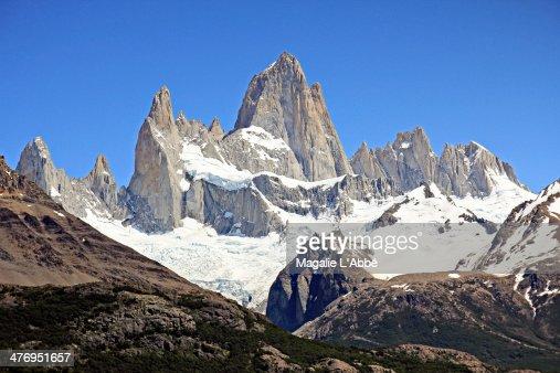 The peaks of Fitz Roy
