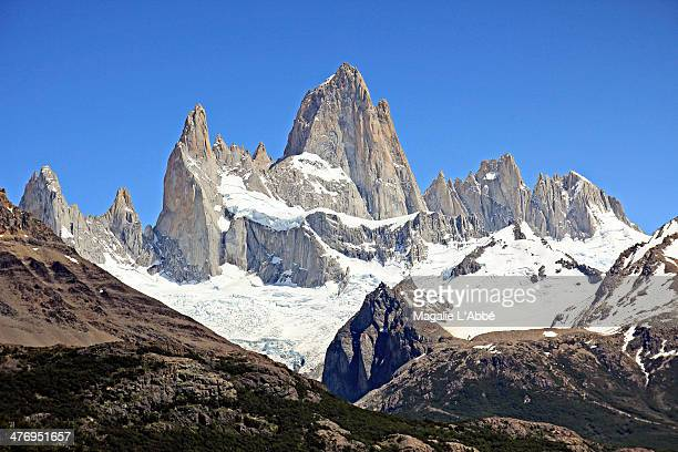 The peaks of Fitz Roy